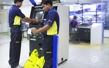ATM Replenishment Services India